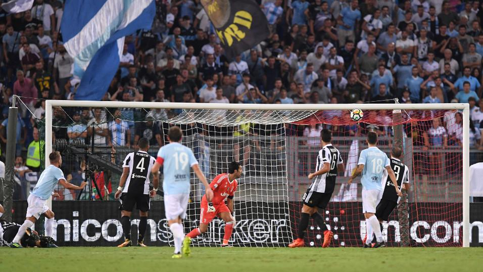 Ciro Immobile already scored twice as Lazio stunned Juventus 3-2 in the Supercoppa in August