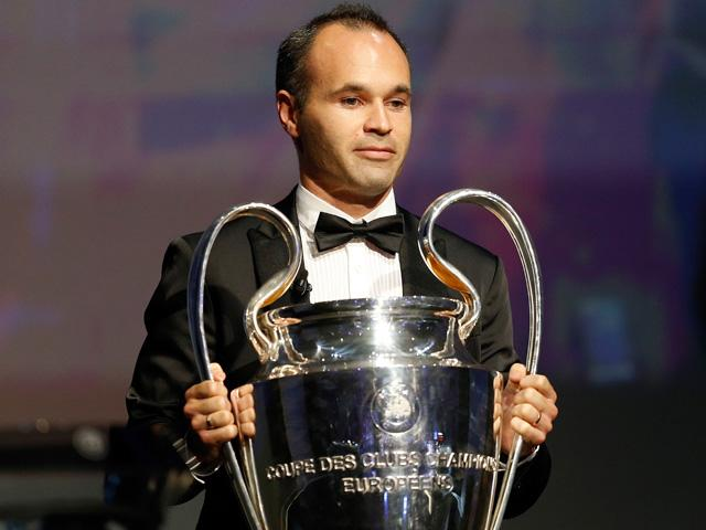 Will Andres Iniesta be part of the first squad to retain the Champions League since AC Milan in 1989/90?