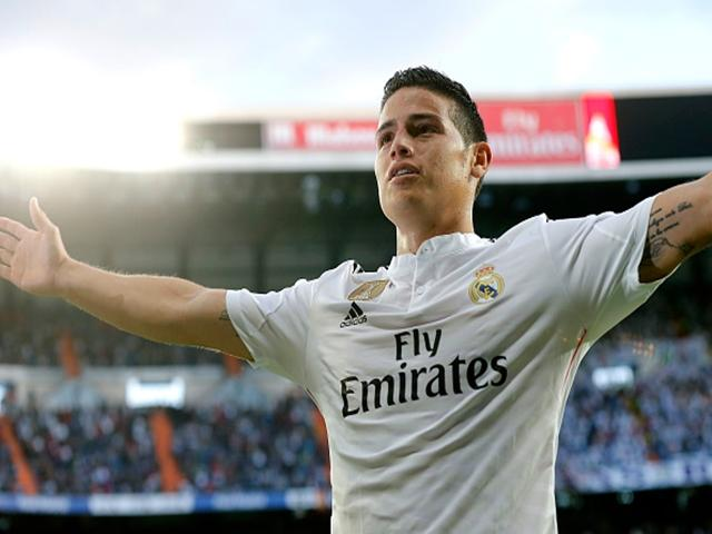 James Rodriguez will be aiming to atone for his first leg miss