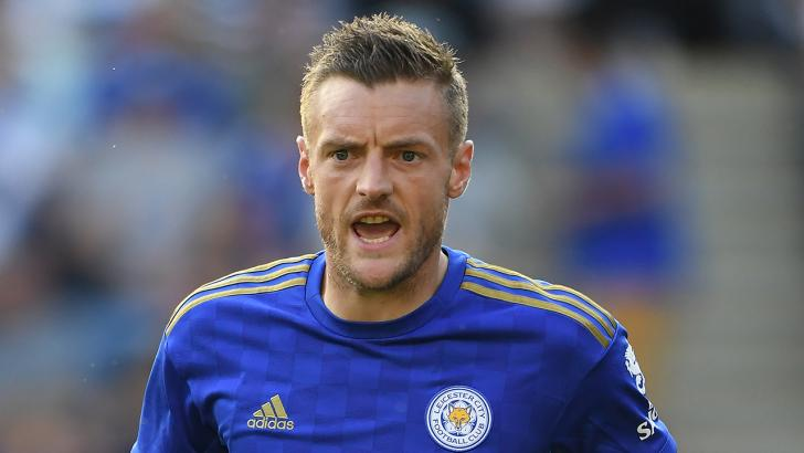 Jamie Vardy: Set to return to the Leicester team