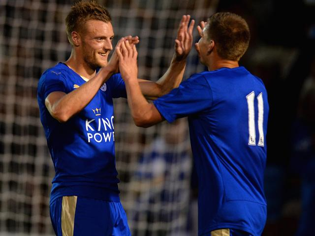 Will Jamie Cardy be celebrating another goal when Leicester player Crystal Palace?