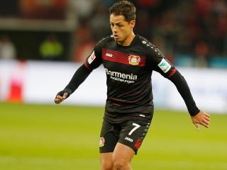 Chicharito had a bad season for Bayer, but scored for Mexico on Sunday
