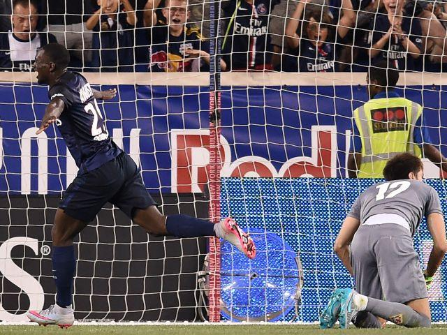 Jean-Kevin Augustin has scored in both International Champions Cup matches for Paris St-Germain