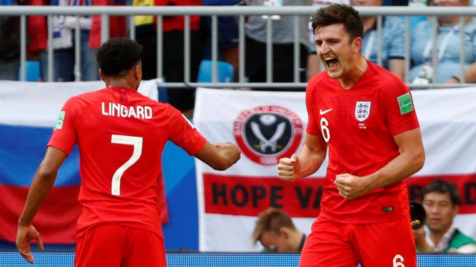 Jesse Lingard and Harry Maguire