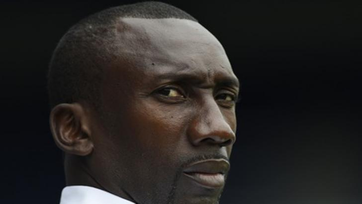 Burton manager Jimmy Floyd Hasselbaink