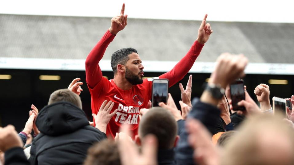 Jobi McAnuff, the Leyton Orient manager
