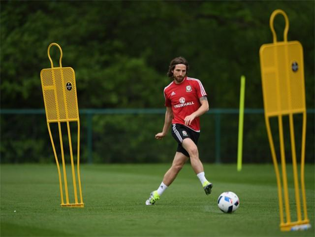 Joe Allen is loving his new role for Stoke