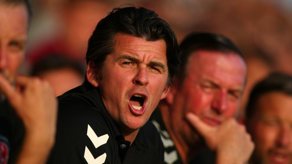 Fleetwood Town manager - Joey Barton
