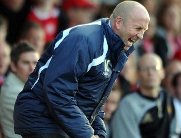 John Coleman seems delighted to have his old job back at Accrington
