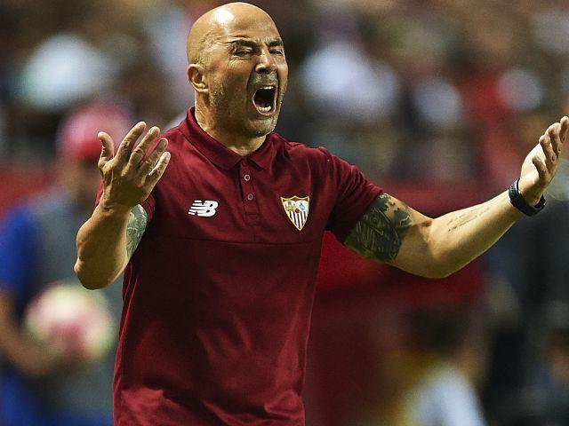Will Jorge Sampaoli be celebrating after Sevilla's match with Juventus?