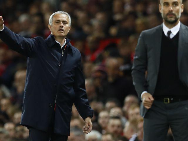 Jose Mourinho and Pep Guardiola are locked together at the top of the table
