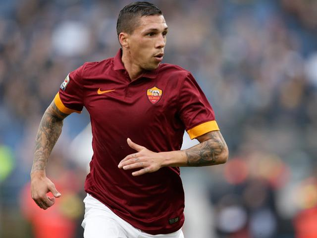 Jose Holebas started 23 Serie A matches for runners-up Roma in 2014/15