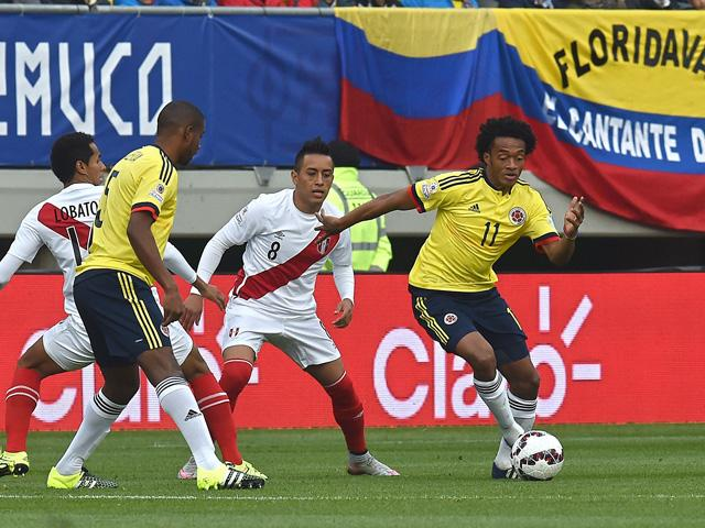 Juan Cuadrado started as many games at Copa America as he did for Chelsea in 2014/15