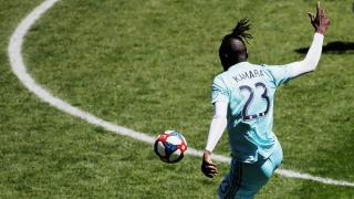Colorado Rapids forward Kei Kamara