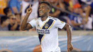 LA Galaxy forward Ola Kamara