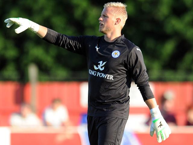 Kasper Schmeichel has retrieved the ball from his net less frequency in the last week