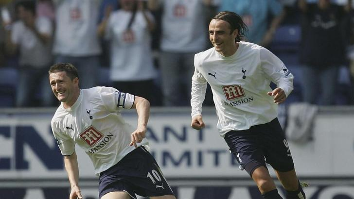 Robbie Keane and Dimitar Berbatov
