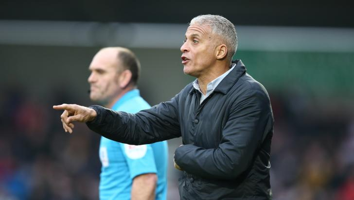 Keith Curle, the Northampton Town manager