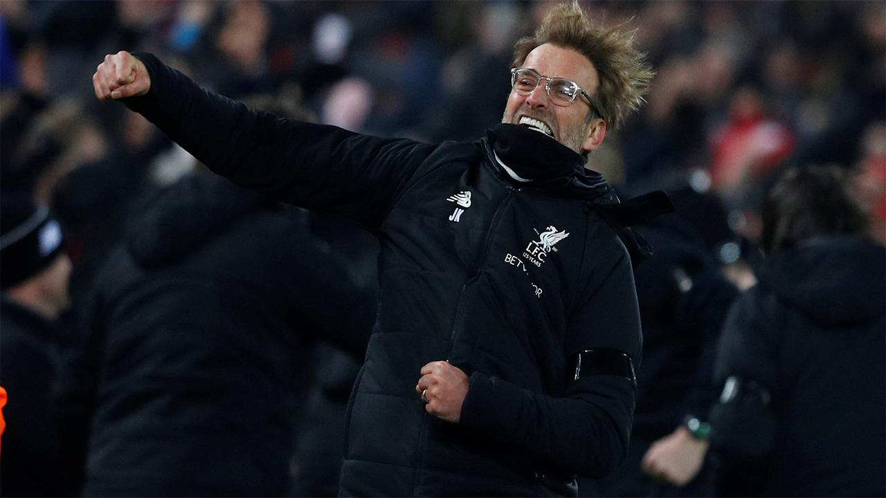 Jurgen Klopp can earn a fifth successive victory on Monday