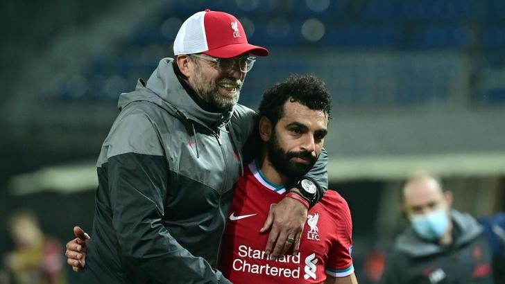 Liverpool duo - Jurgen Klopp and Mo Salah