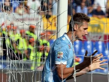 You can always rely on Miroslav Klose to find the net