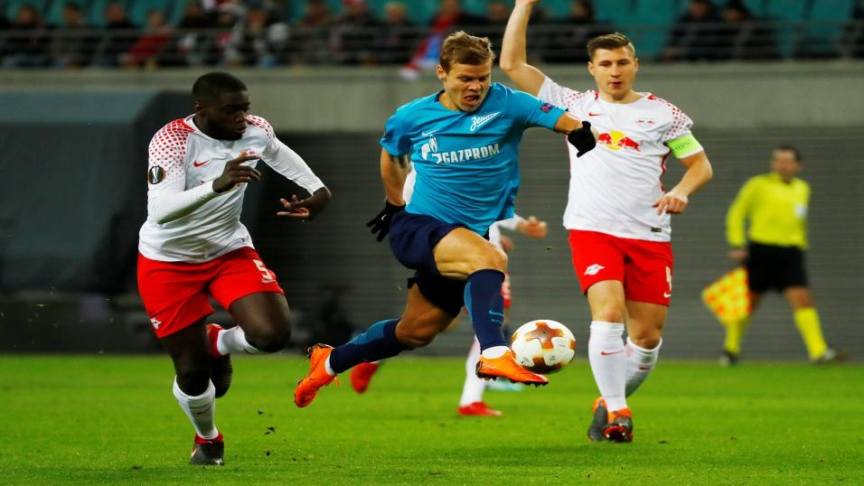 Russia and Zenit St Petersburg striker Alexandr Kokorin