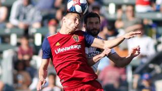 Real Salt Lake midfielder Damir Kreilach