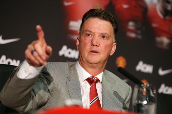 Under-fire Manchester United manager Louis van Gaal