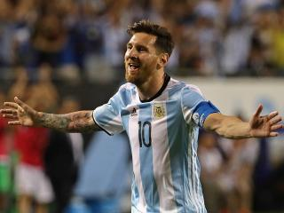Lionel Messi scored a hat-trick for Argentina against Panama in the Copa America group stage