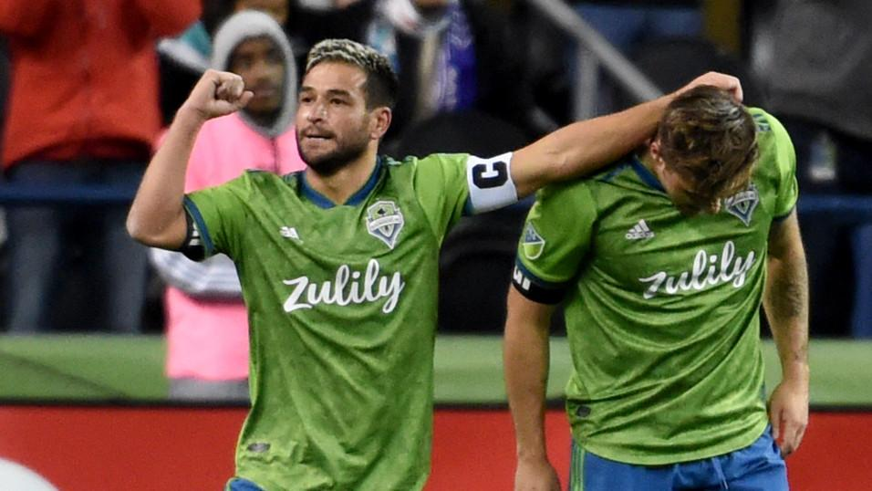 Seattle Sounders captain Nicolas Lodeiro 2019