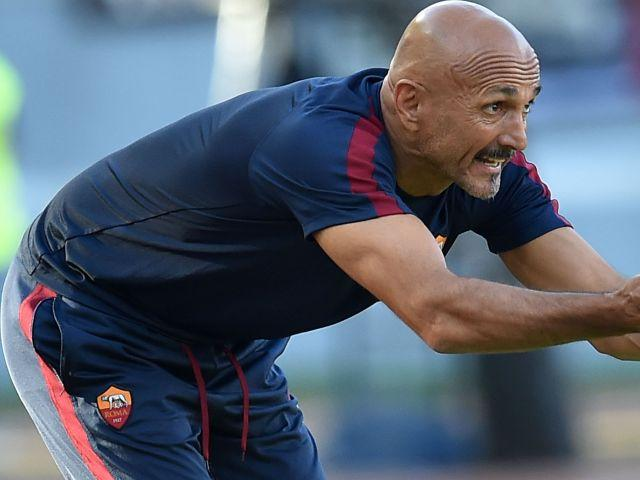 Luciano Spalletti's Roma score plenty of goals of home soil