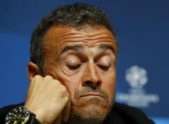 Luis Enrique will not want a repeat of Barcelona's last Champions League away game