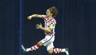Croatia captain Luke Modric