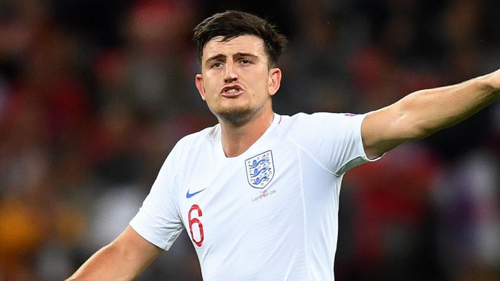 Manchester United defender - Harry Maguire