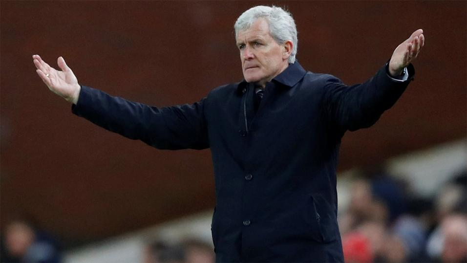 Southampton manager Mark Hughes.