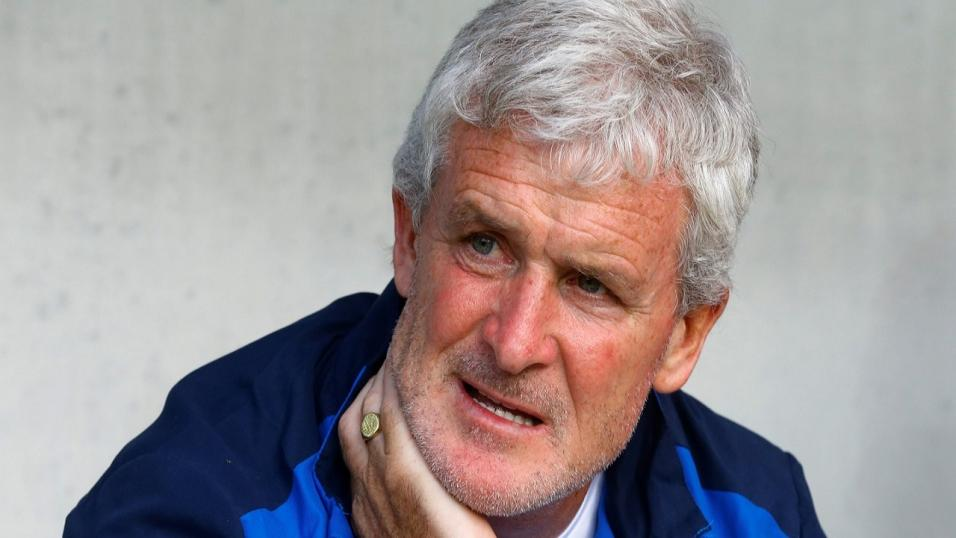 Southampton manager Mark Hughes