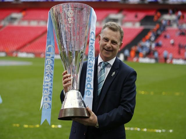 Coventry won the Checkatrade Trophy last season
