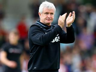 Mark Hughes could well be applauding another Stoke win on Wednesday night