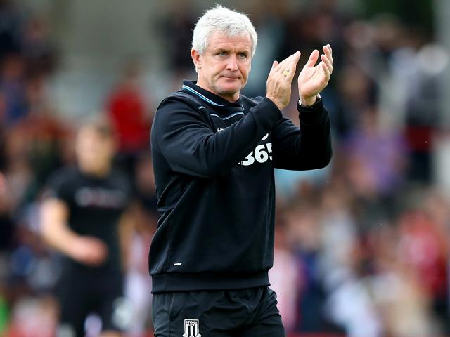 Will Mark Hughes be applauding his Stoke side after their match with Watford?