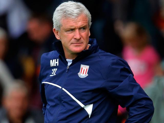 Stoke manager Mark Hughes has a dominant record against Arsenal.