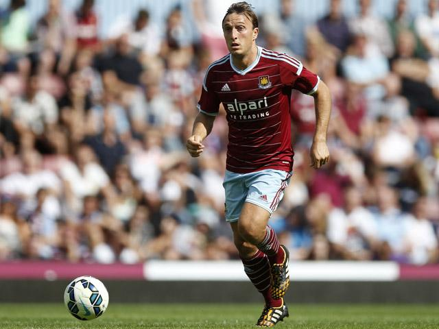 Mark Noble has never had a shot at European football during his lengthy West Ham service