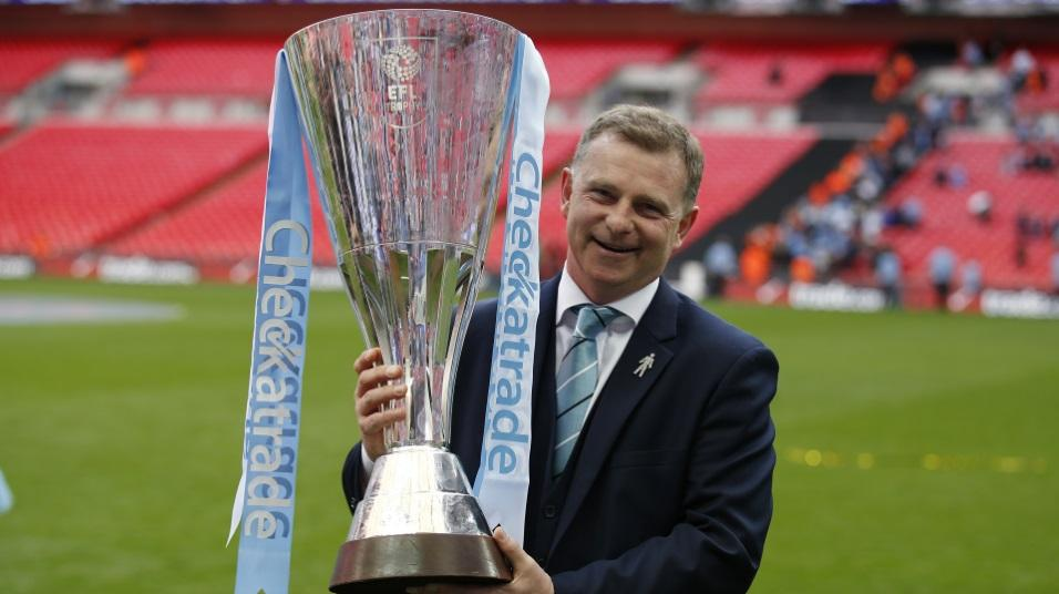 Coventry City manager Mark Robins