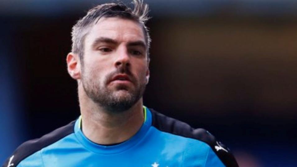 Scunthorpe United goalkeeper Matt Gilks