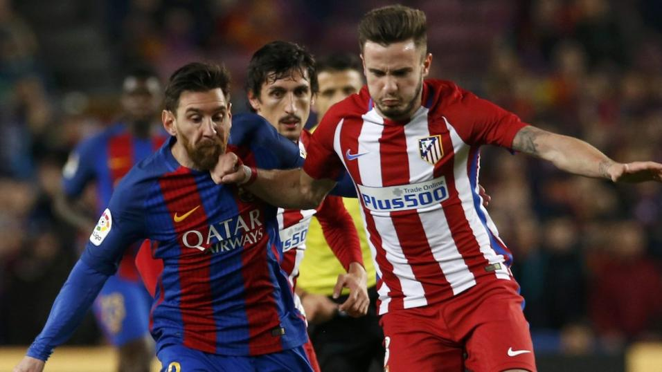 Lionel Messi's 600th career goal highlights Barcelona's win over Atletico Madrid