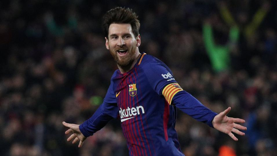 Messi dances as Barcelona players celebrate title triumph — WATCH