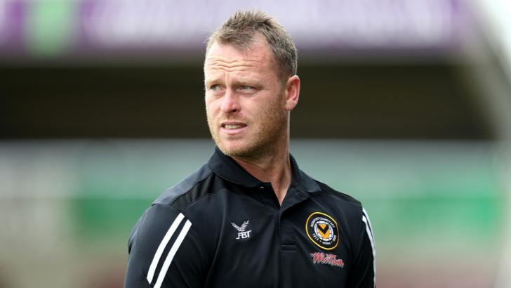 Michael Flynn, the Newport County manager
