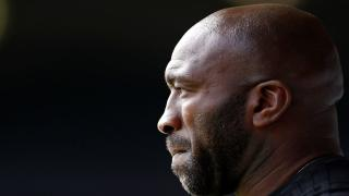 West Brom manager Darren Moore.
