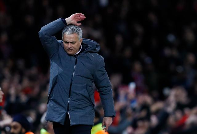 Will Jose Mourinho look happier after Manchester United's match with Swansea?