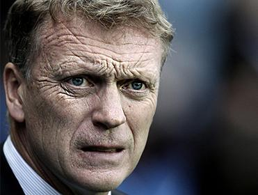 It's been a tough baptism for David Moyes