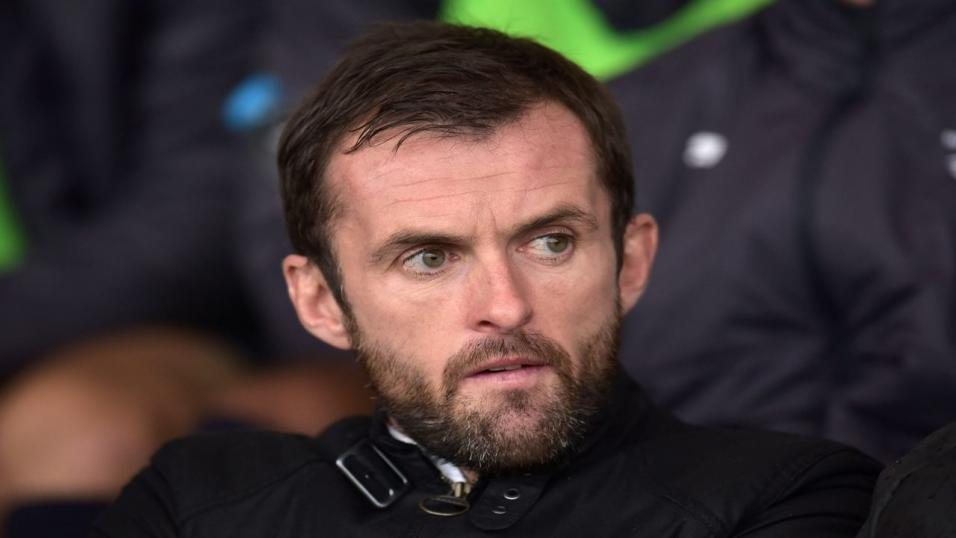 Luton Town manager - Nathan Jones